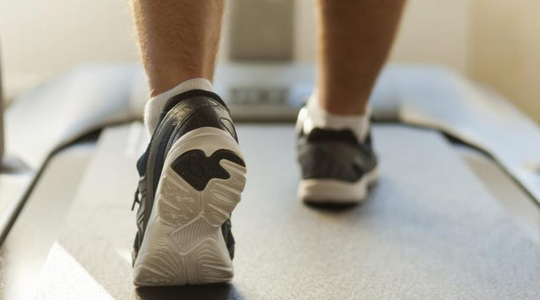 noisy running? try this sound absorbing treadmill mat • noise free